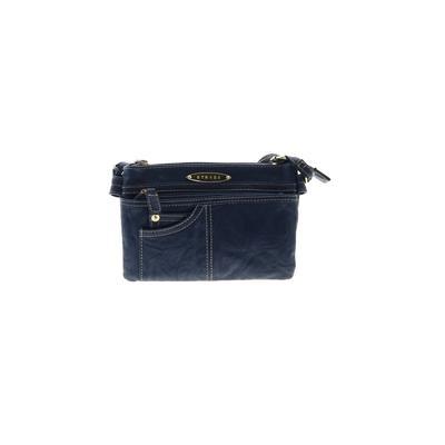 Strada Fashion - Strada Fashion Crossbody Bag: Blue Solid Bags
