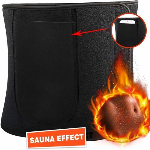 Fitnessgürtel,Einstellbar Taillen Trimmer/Bauchweggürtel/Schwitzgürtel,Fettverbrennung/Sauna
