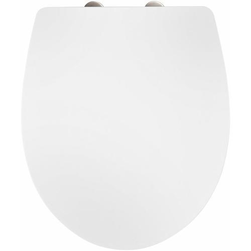 WC-Stitz Toilettendeckel Toilettensitz weiss