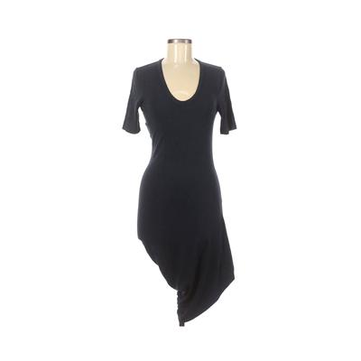 T by Alexander Wang Casual Dress: Blue Solid Dresses - Used - Size Medium