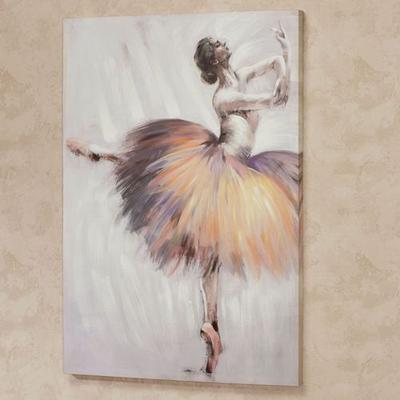 Graceful Ballerina Canvas Wall Art Multi Cool , Multi Cool
