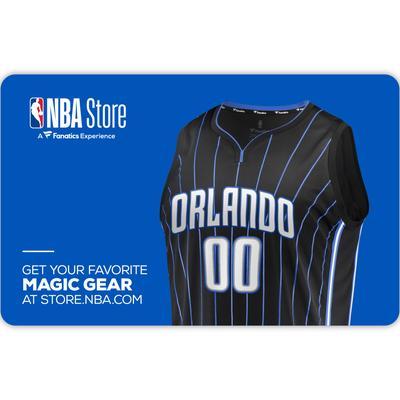 """""""Orlando Magic NBA Store eGift Card ($10-$500)"""""""