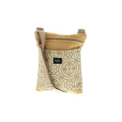 Madison Handbags Crossbody Bag: Tan Bags
