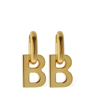 B Chain Xs Earrings - Metallic -...
