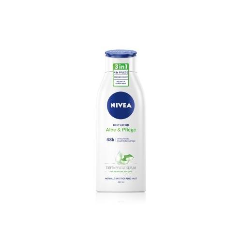 NIVEA 48h Pflege Aloe & Pflege Bodylotion 400 ml