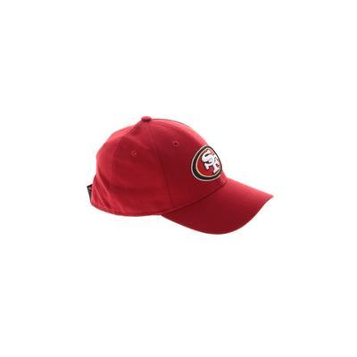 New Era Baseball Cap: Red Solid ...