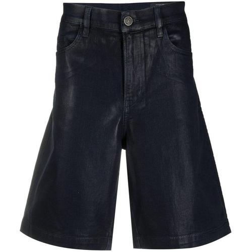 DIESEL Beschichtete Jeans-Shorts