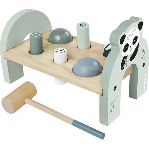 Eichhorn Klopfbank, aus Holz bunt Kinder Klopfbank Holzspielzeug