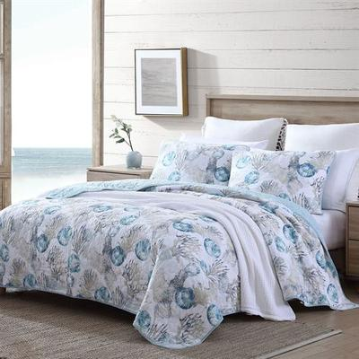 Freeport Mini Quilt Set Blue, Twin, Blue