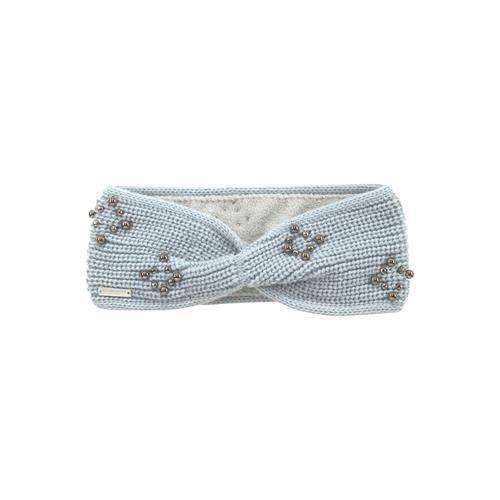 Seeberger Stirnband, mit kleinen Kugelnieten vorn grau Damen Stirnband