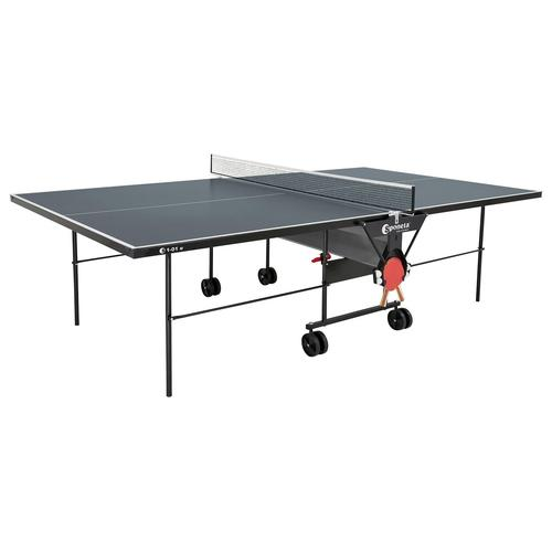 Sponeta Tischtennisplatte inkl. Abdeckhülle (grau)