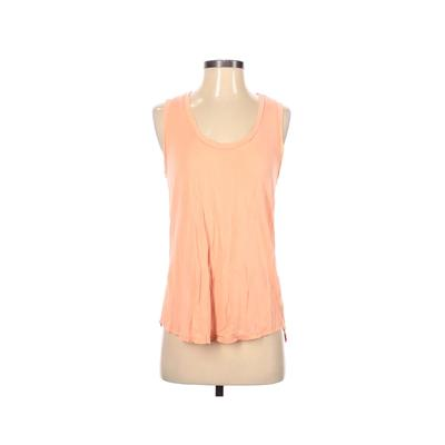 Nux Tank Top Orange Solid Scoop Neck Tops - Used - Size Small