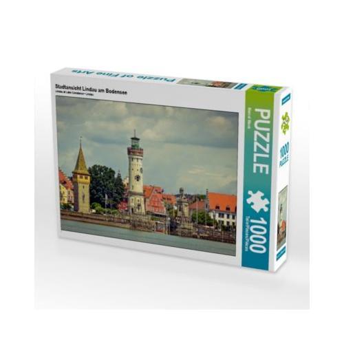 Stadtansicht Lindau am Bodensee Foto-Puzzle Bild von Marcel Wenk Puzzle