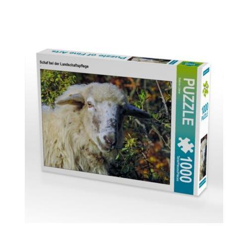 Schaf bei der Landschaftspflege Foto-Puzzle Bild von Sabine Löwer Puzzle