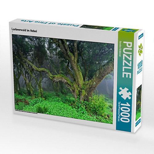 Lorbeerwald im Nebel Foto-Puzzle Bild von Sandra Schänzer Puzzle