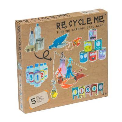 Tikiri Toys - ReCycleMe Creative Games Kit