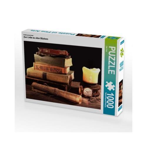 Aus Liebe zu alten Büchern Foto-Puzzle Bild von Eva Feix Puzzle