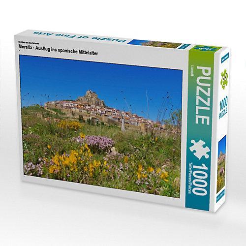 Morella - Ausflug ins spanische Mittelalter Foto-Puzzle Bild von Thomas Polske Puzzle