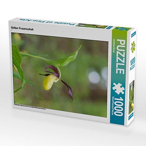 Gelber Frauenschuh Foto-Puzzle Bild von Christian Birzer Puzzle