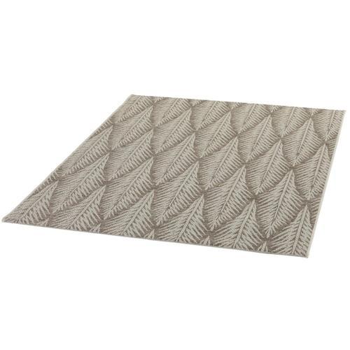 Schneider Outdoorteppich Juna, rechteckig, 5 mm Höhe braun Outdoor-Teppiche Teppiche