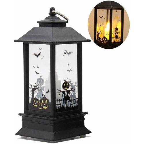 Dekorative Halloween Lampe LED Bulb Flame Hanging Lantern für Halloween Home Tischdekoration