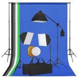 vidaXL Fotostudio-Set mit Leucht...