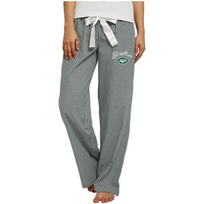 Women's Concepts Sport Green/White New York Jets Tradition Woven Pants