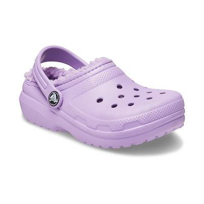 Crocs Orchid Kids' Classic Lined Clog Shoes