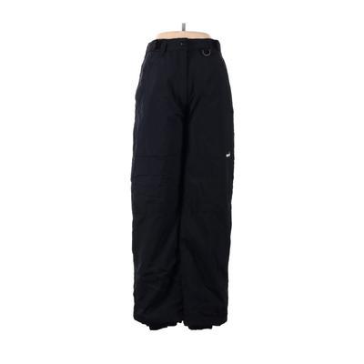 Ski Gear Snow Pants - Mid/Reg Rise: Black Activewear - Size Medium