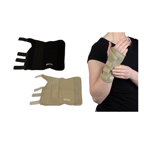 Handgelenkstütze: linkes Handgelenk / Creme / Gr. L