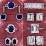 Ensemble de Bijoux rose et bleu ...