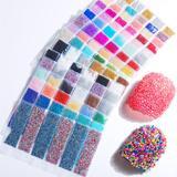 Mini billes colorées à bulles, 6...