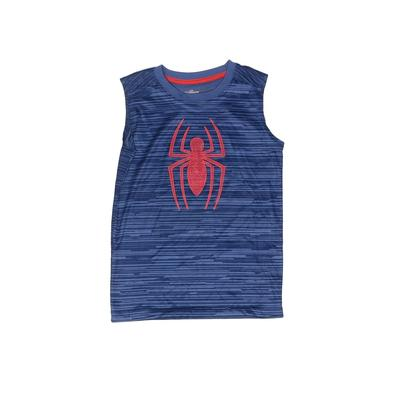 Spiderman Active T-Shirt: Blue Sporting & Activewear - Size 6