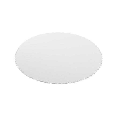 500x Tortenunterlagen aus Frischfaser Pappe Ø 26 cm