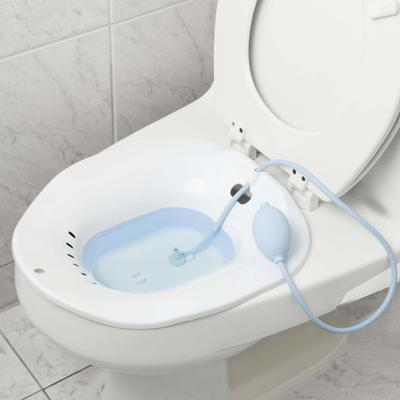 Collapsible Sitz Bath by North American Health+Wellness in White
