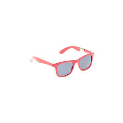 Sunglasses: Red Solid Accessories