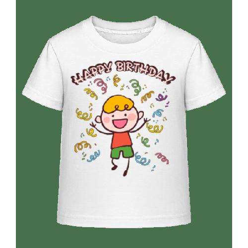 Happy Birthday Tanz - Kinder Shirtinator T-Shirt