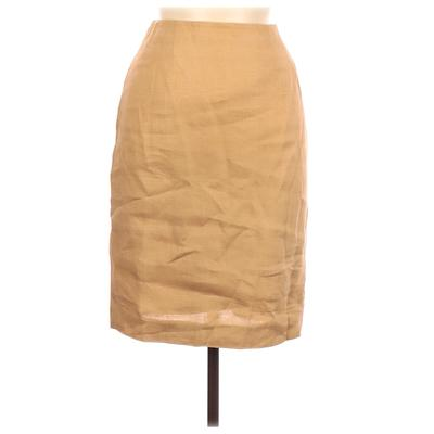 Nordstrom Casual Skirt: Brown Solid Bottoms - Size 10