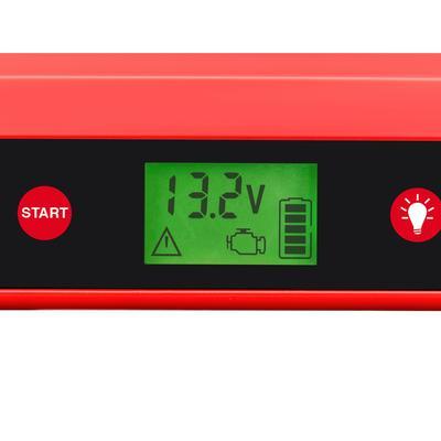 APA Starthilfegerät, 12000 mAh, 12 V rot Starthilfegerät Autobatterie-Ladegeräte Autozubehör Reifen