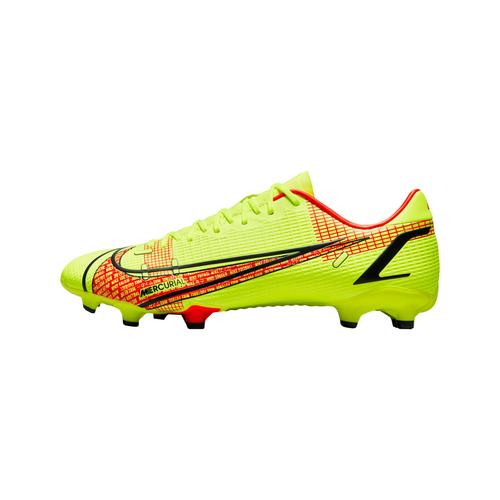 Nike Herren Fußballschuhe Rasen, Kunstrasen VAPOR 14 ACADEMY FG/MG, gelb/rot, Gr. 42,5EU