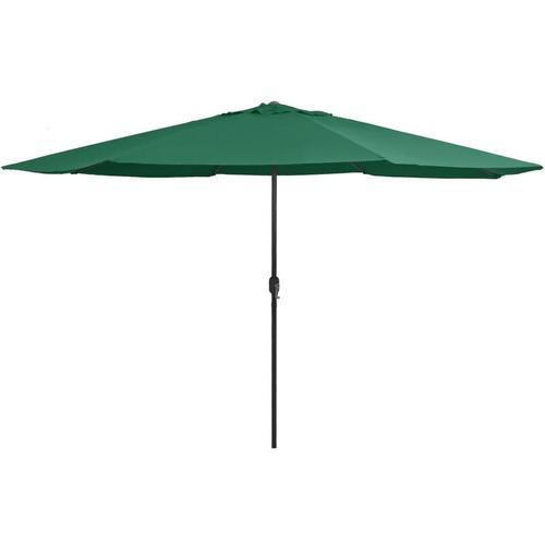 Betterlife - Sonnenschirm mit Metall-Mast 400 cm Grün