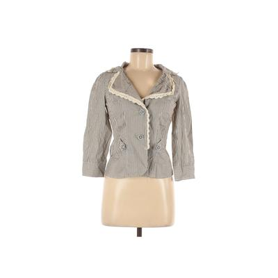 Assorted Brands Blazer Jacket: Ivory Jackets & Outerwear - Size 42