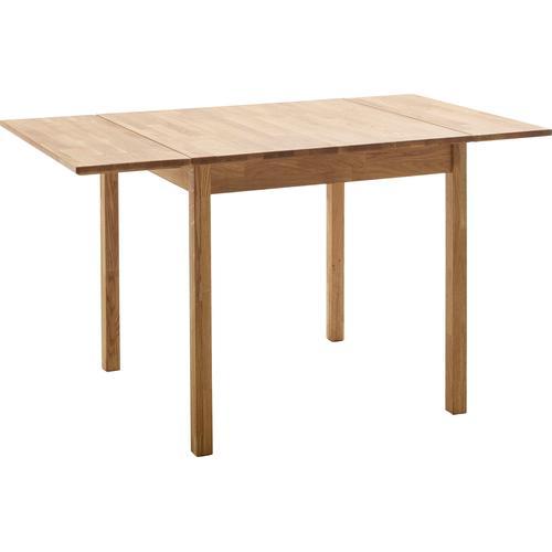 MCA living Esstisch Breslau, Massivholztisch erweiterbar braun Holz-Esstische Holztische Tische
