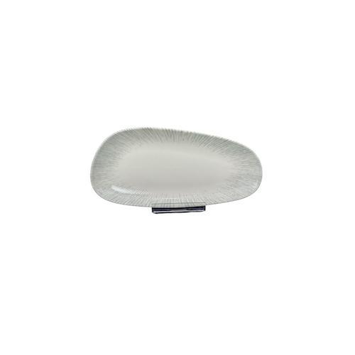 6x Servierplatte Geschirr Servierteller Teller Platte oval 36 cm Iris Vago Platte