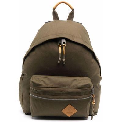 Leather Logo-patch Backpacks - Green - Eastpak Backpacks