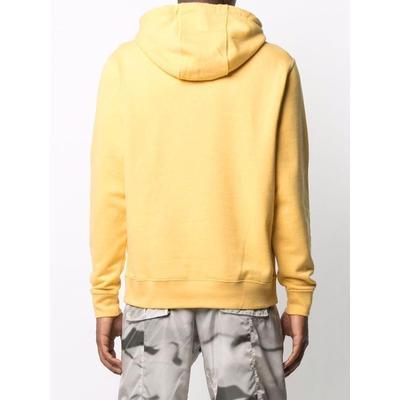 Sportswear Logo Hoodie - Yellow - Nike Sweats