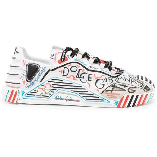 Dolce & Gabbana Handbemalte Sneakers