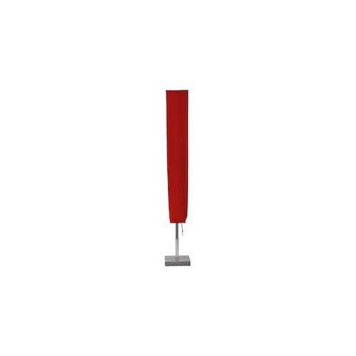 Planesium Abdeckplane für Sonnenschirm Rot 240cm x Ø 60cm Hülle Abdeckung Schutzhülle Haube Ampelschirm