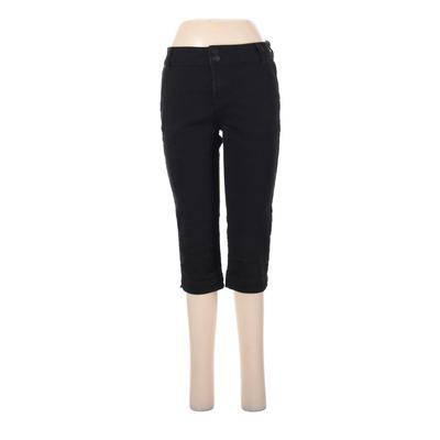 D.Jeans Casual Pants - Mid/Reg Rise: Black Bottoms - Size 6