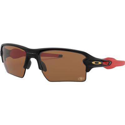 Men's Oakley San Francisco 49ers Flak 2.0 XL Sunglasses